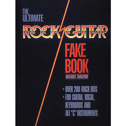 Hal Leonard Rock Guitar Fake Book