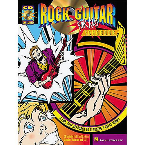 Hal Leonard Rock Guitar for Kids Songbook