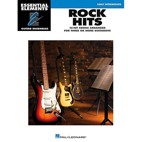 Hal Leonard Rock Hits - Essential Elements Guitar Ensembles Early Intermediate