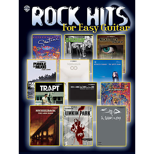 Hal Leonard Rock Hits for Easy Guitar Easy Guitar