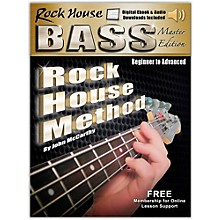 Hal Leonard Rock House Bass Guitar Master Edition Begining - Advanced Complete Book/Online Audio and Video