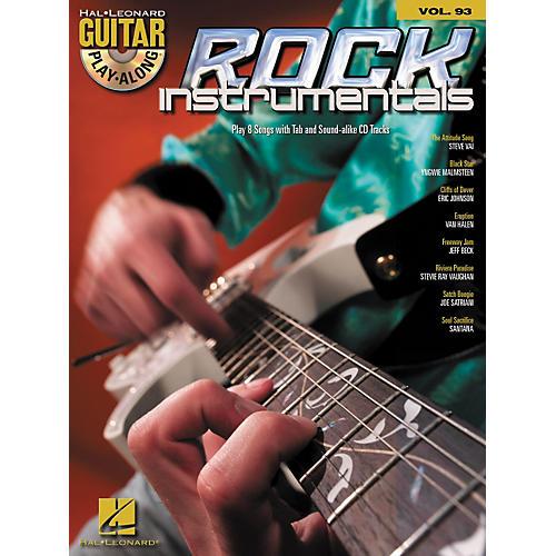 Hal Leonard Rock Instrumentals - Guitar Play-Along Volume 93 (Book/CD)