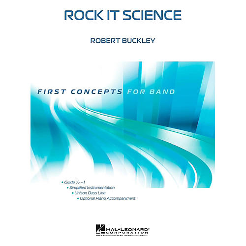 Hal Leonard Rock It Science - First Concepts Concert Band Level 1