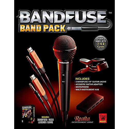 BandFuse Rock Legends Band Pack For Xbox360 and PS3