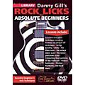 Hal Leonard Rock Licks For Absolute Beginners - Lick Library DVD thumbnail