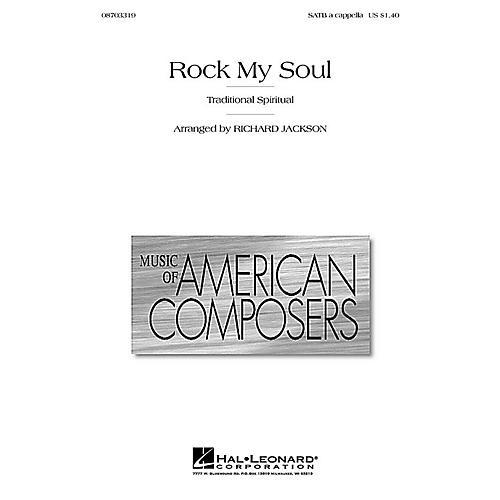 Hal Leonard Rock My Soul SATB a cappella arranged by Richard Jackson