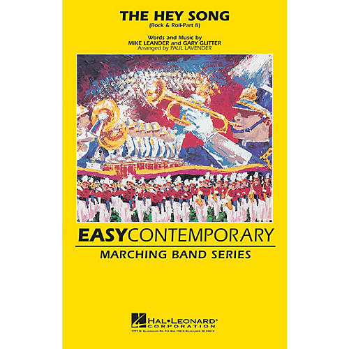 Hal Leonard Rock & Roll - Part II (The Hey Song) Marching Band Level 2 Arranged by Paul Lavender