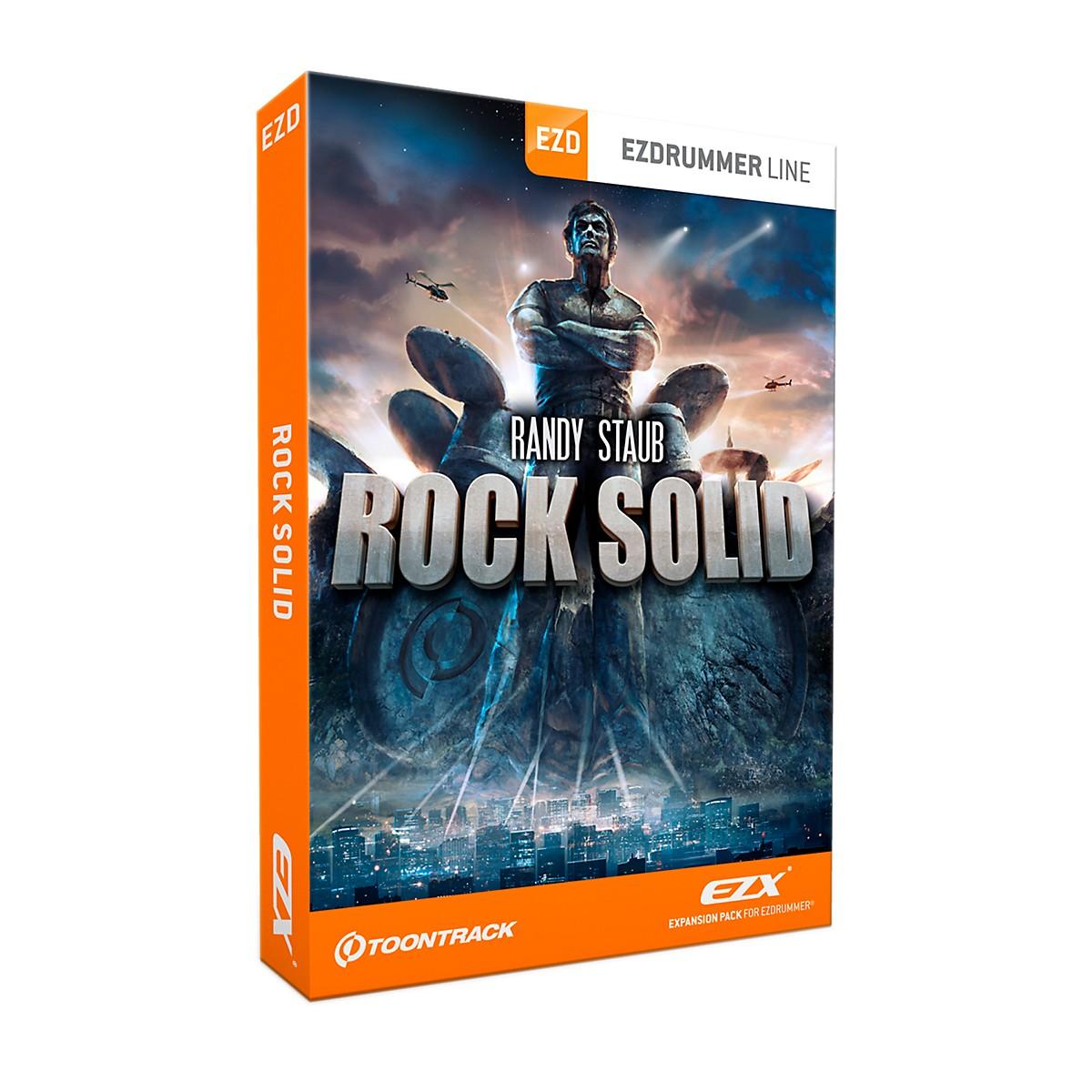 Toontrack Rock Solid EZX Software Download
