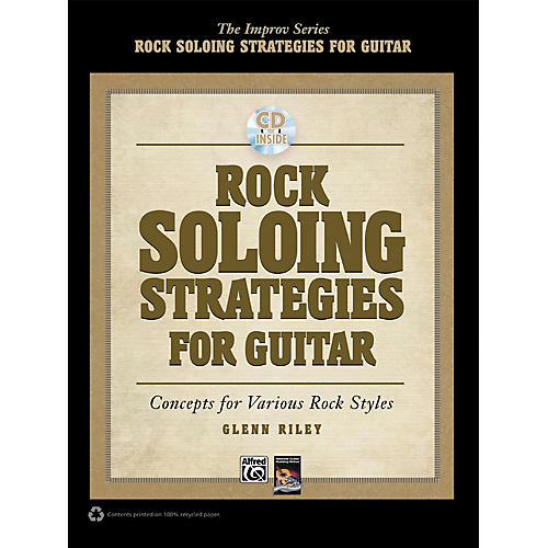 Alfred Rock Soloing Strategies for Guitar - Book & CD
