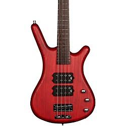 RockBass Corvette Electric Bass Guitar Burgundy Red