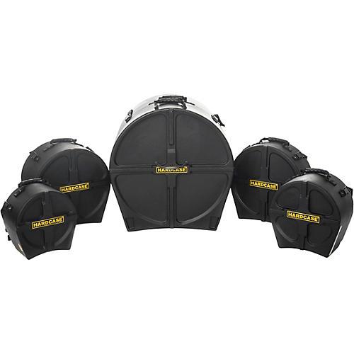 HARDCASE RockFusion 5-Piece Drum Case Set