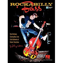 Hal Leonard Rockabilly Bass - Slap Technique, Creating Bass Lines & the Rudiments of Rockin' String Bass Book/Video Online