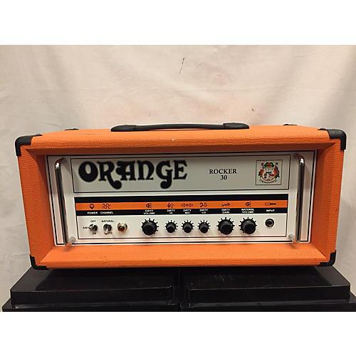 used orange amplifiers rocker 30 tube guitar amp head guitar center. Black Bedroom Furniture Sets. Home Design Ideas