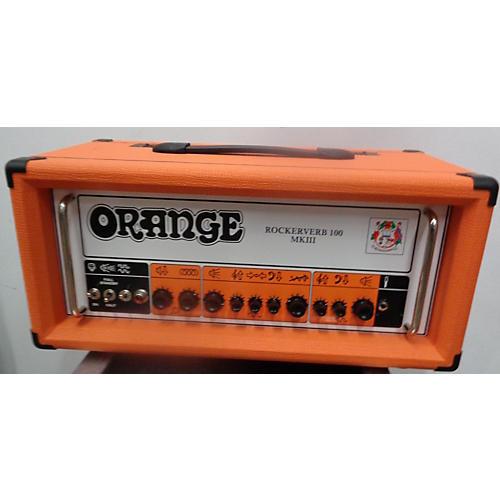 Orange Amplifiers Rockerverb 100H MKIII Tube Guitar Amp Head
