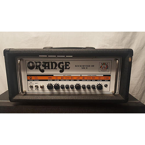 Orange Amplifiers Rockerverb RK100HTC MKII 100W Tube Guitar Amp Head