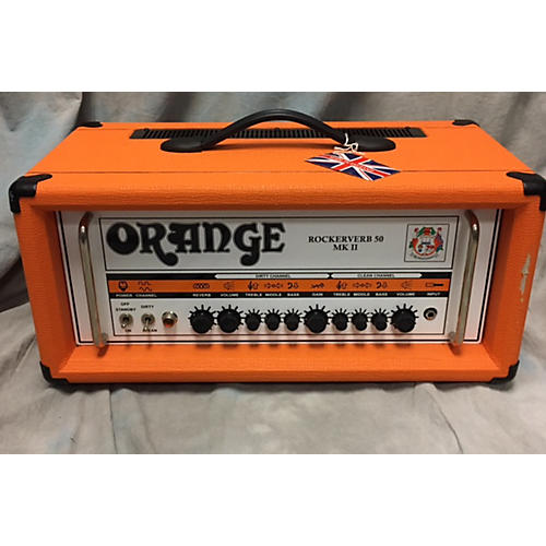Orange Amplifiers Rockerverb RK50HMII Tube Guitar Amp Head