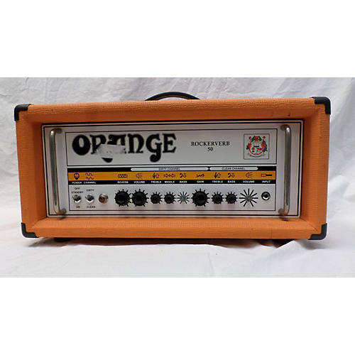 Orange Amplifiers Rockerverb RK50HTC 50W Tube Guitar Amp Head