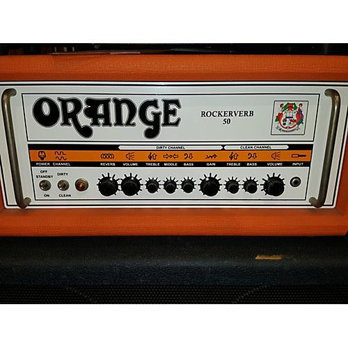 Orange Amplifiers Rockerverb RK50HTC MKII 50W Tube Guitar Amp Head