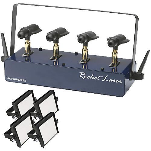Omnisistem Rocket System 4-Head DMX Laser with Mirrors