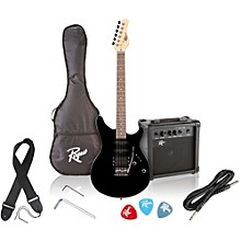 Rogue Rocketeer Electric Guitar Pack Level 1 Black