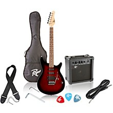 Rogue Rocketeer Electric Guitar Pack Level 1 Red Burst