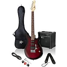 Rocketeer Electric Guitar Pack Level 1 Wine Burst