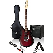Rocketeer Electric Guitar Pack Wine Burst