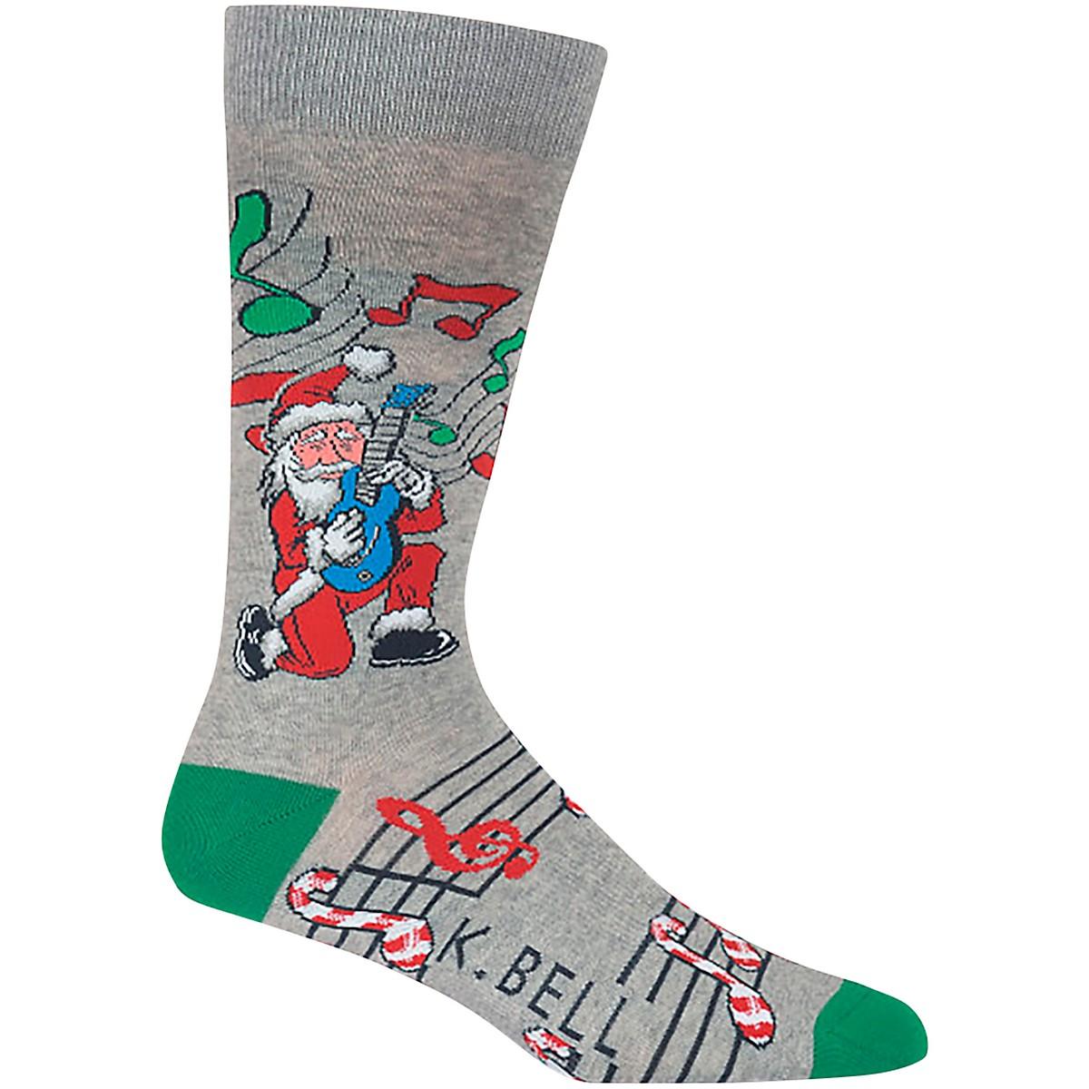 K. Bell Rockin' Santa Crew Sock