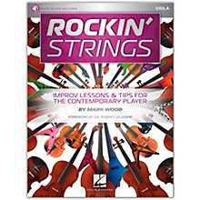 Hal Leonard Rockin' Strings: Viola - Improv Lessons & Tips for the Contemporary Player Book/Audio Online