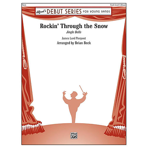 Alfred Rockin' Through the Snow Concert Band Grade 1