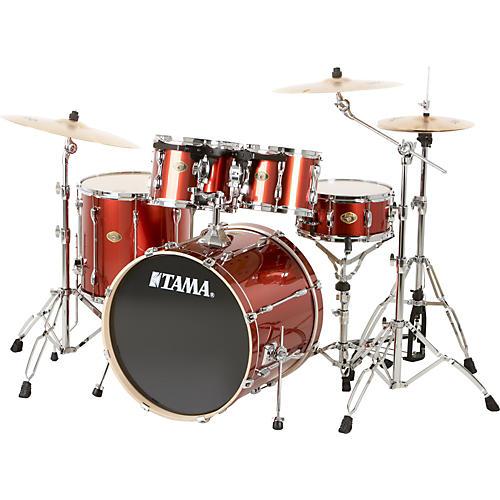 tama rockstar 5 piece drum set with meinl cymbals guitar center. Black Bedroom Furniture Sets. Home Design Ideas