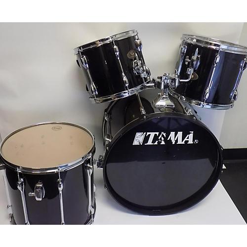 used tama rockstar drum kit black guitar center. Black Bedroom Furniture Sets. Home Design Ideas