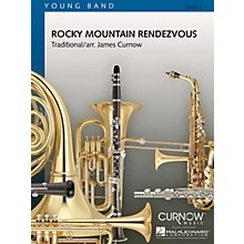 Curnow Music Rocky Mountain Rendezvous (Grade 2 - Score and Parts) Concert Band Level 2 Composed by James Curnow