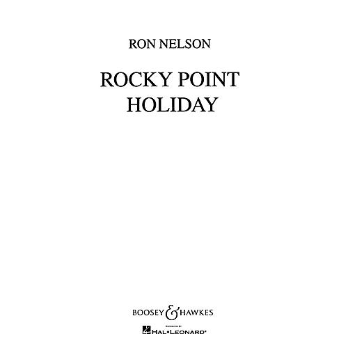 Boosey and Hawkes Rocky Point Holiday Concert Band Composed by Ron Nelson