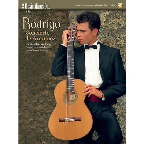 Music Minus One Rodrigo - Concierto De Aranjuez (Music Minus One Guitar) Music Minus One Series Softcover Audio Online