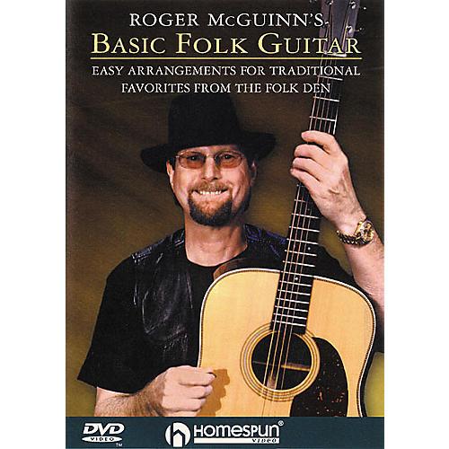Homespun Roger McGuinn's Basic Folk Guitar (DVD)