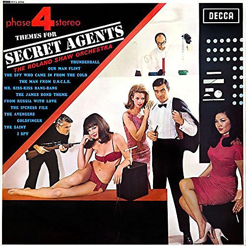 Alliance Roland Shaw & His Orchestra - Themes for Secret Agents