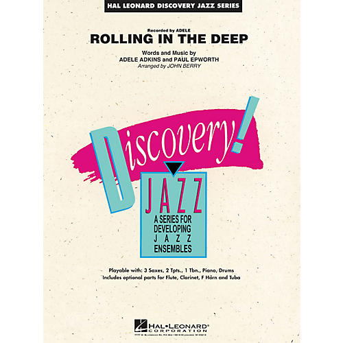 Hal Leonard Rolling In The Deep - Discovery Jazz Series Level 1.5