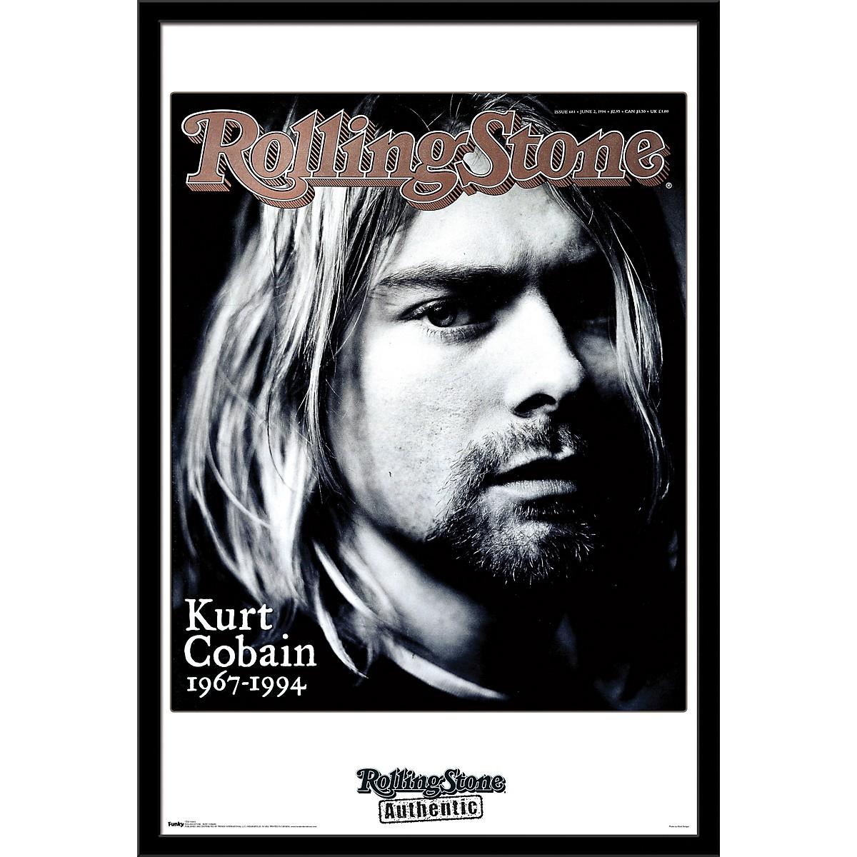Trends International Rolling Stone - Kurt Cobain Poster