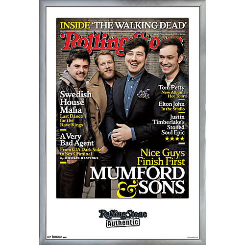 Trends International Rolling Stone - Mumford And Sons Poster