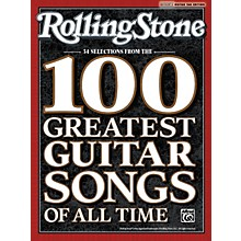 Alfred Rolling Stone: 34 Selections from the 100 Greatest Guitar Songs of All Time - Tab Book