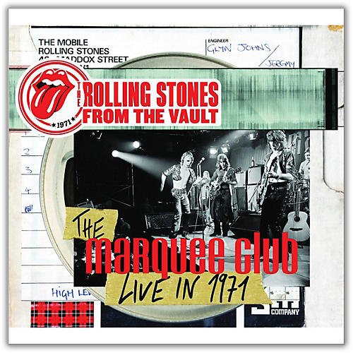 Universal Music Group Rolling Stones - From The Vault - The Marquee Club Live in 1971 Limited Edition [DVD / LP]
