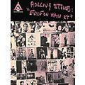 Hal Leonard Rolling Stones Exile on Main Street Guitar Tab Songbook thumbnail