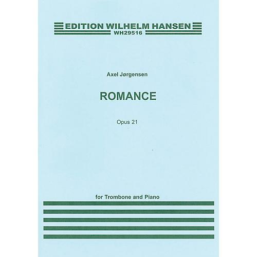 Wilhelm Hansen Romance Op. 21 (for Trombone and Piano) Music Sales America Series