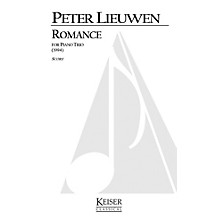 Lauren Keiser Music Publishing Romance for Piano Trio LKM Music Series Composed by Peter Lieuwen