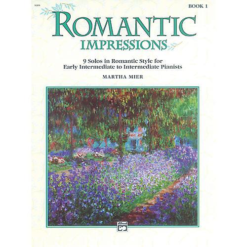 Alfred Romantic Impressions Book 1