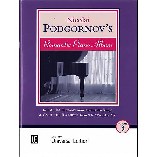 Carl Fischer Romantic Piano Album Vol. 3 Book