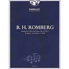 Dowani Editions Romberg: Sonata for Cello and Piano in E Minor, Op. 38 No. 1 Dowani Book/CD Series