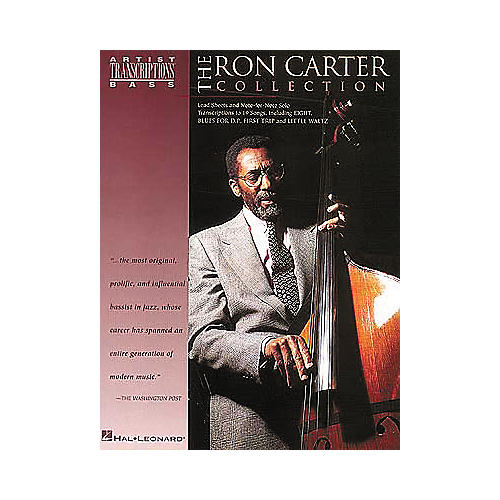 Hal Leonard Ron Carter Collection Bass Transcriptions Book
