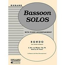 Rubank Publications Rondo (from Conc for Bassoon, Op 75) Rubank Solo/Ensemble Sheet Series